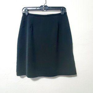 VTG Michele Black Zip Up Pencil Skirt
